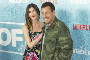 Adam Sandler mit Frau Jackie