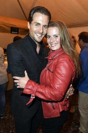 Alexander Klaws und seine Frau Nadja Scheiwiller im Jahr 2017