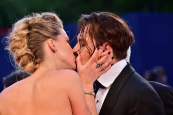 Amber Heard  Johnny Depp Internationales Film Festival Venedig 2015