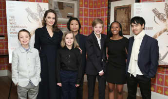 Angelina Jolie Kinder Knox Vivienne Pax Shiloh Zahara Maddox