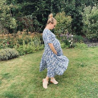 Ania Niedieck schwanger Babybauch