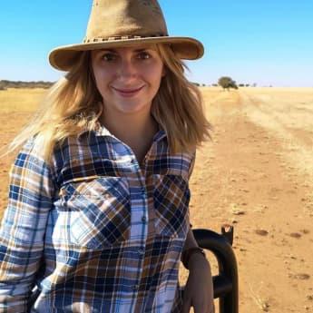 """Anna Heiser ist seit """"Bauer sucht Frau"""" eine kleine Berühmtheit im Netz"""
