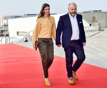 Anne und Anders Holch Povlsen in Dänemark 2018