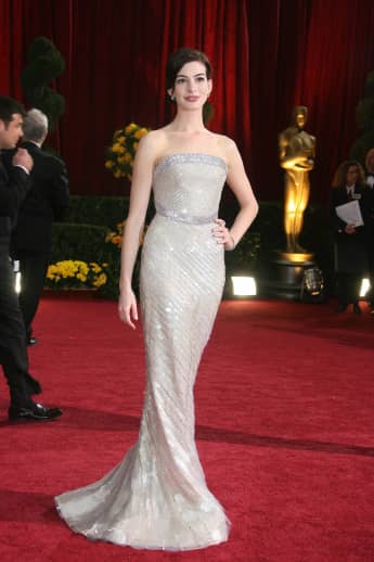 Anne Hathaway bei den Oscars in Hollywood 2009