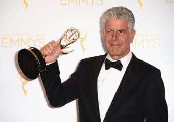 Anthony Bourdain, Anthony Bourdain Emmys, Anthony Bourdain Emmys 2018, Emmys 2018, Starr Koch Anthony Bourdain