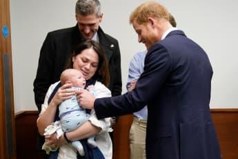 Prinz Harry Baby Birmingham Krankenhaus