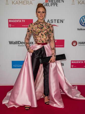 Barbara Meier bei der Goldenen Kamera 2019