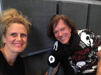 """Jürgen Drews zu Gast in Barbara Schönebergers Radiosendung """"Mit den Waffeln einer Frau"""""""
