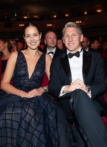 """Ana Ivanovic und Bastian Schweinsteiger bei der """"GQ Men of the Year Award""""-Show"""