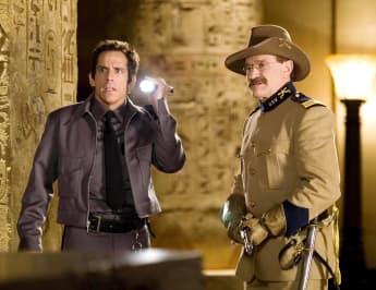 """Ben Stiller und Robin Williams in """"Nachts im Museum"""""""