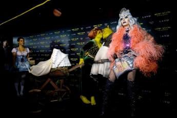 Bill Kaulitz Halloween Heidi Klum