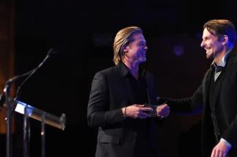 Brad Pitt bedankt sich bei Bradley Cooper, der ihm half, seine Alkoholsucht zu besiegen