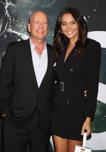 Bruce Willis und Emma Heming