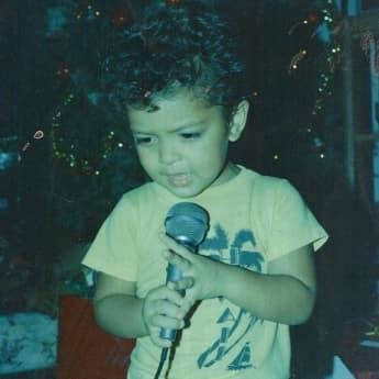 Bruno Mars als Kind