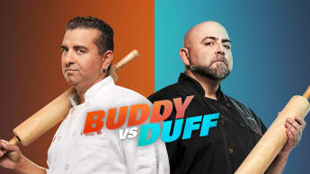 "In ""Duell der Backgiganten"" backen Buddy Valastro und Duff Goldman um die Wette"
