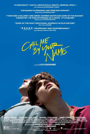 "Armie Hammer und Timothee Chalamet in ""Call Me By Your Name"""