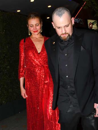 """Cameron Diaz und Benji Madden besuchten gemeinsam Gwyneth Paltrows """"Pre-Wedding-Feier"""""""