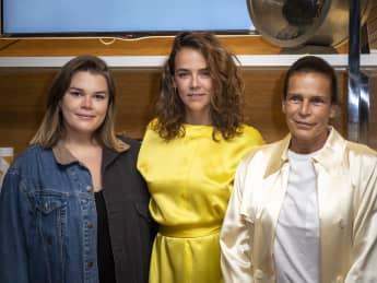 Stephanie von Monaco mit ihren Töchtern Camille Gottlieb und Pauline Ducruet am 22. September 2020