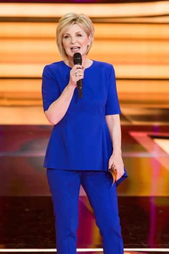 Carmen Nebel bei der Aufzeichnung ihrer ZDF Unterhaltungssendung in Hof
