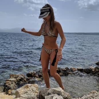 Cathy Hummels zeigt ihren Bikini-Body