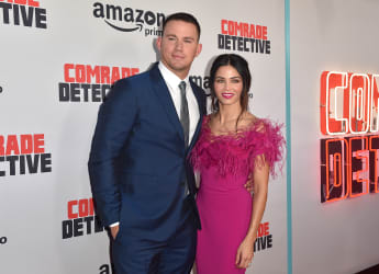 Channing Tatum und Jenna Dewan Tatum bei der Premiere von Amazons Comrade Detective