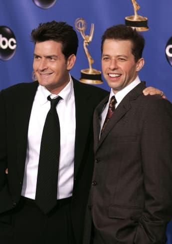Charlie Sheen und Jon Cryer