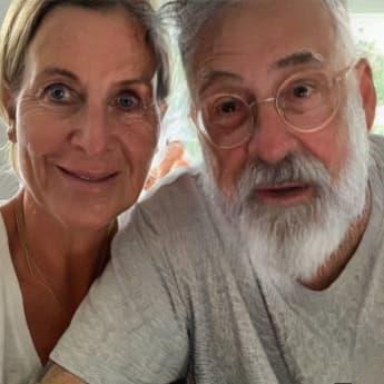 Charlotte Würdig und Sido mit der FaceApp