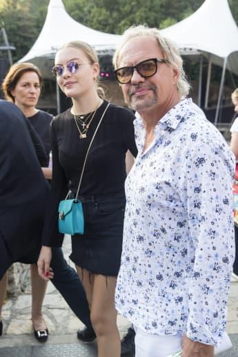 Uwe Ochsenknecht mit seiner Tochter Cheyenne Ochsenknecht West-Eastern Divan Orchestra in der Berliner Waldbühne am 19. August 2018
