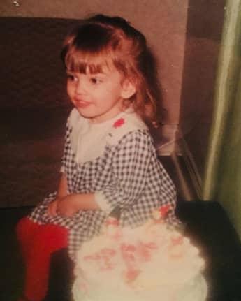 Cindy Crawford als Kind