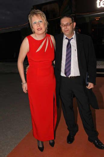 Corinna May und Ehemann Claus