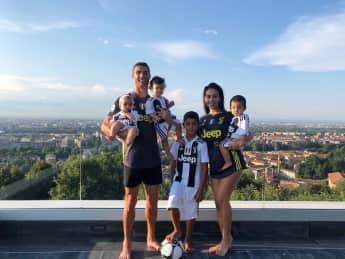 Cristiano Ronaldo So groß sind seine Kinder schon