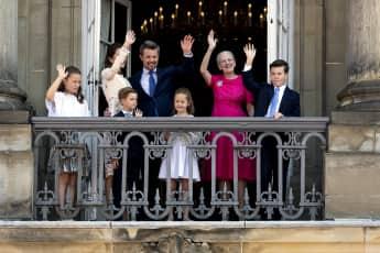 Kronprinz Frederik von Dänemark feierte zusammen mit seiner Familie und vielen royalen Gästen seinen 50. Geburtstag