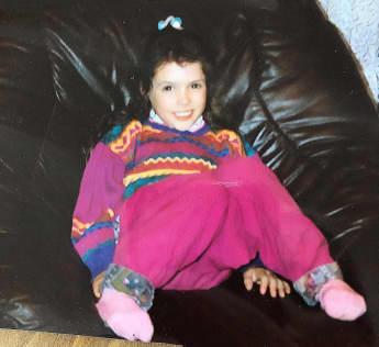 Daniela Katzenberger früher Kind