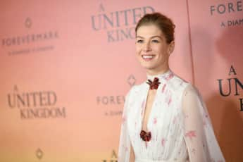 """Bond Girl"" Rosamund Pike"