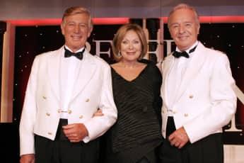 """Heide Keller, Siegfried Rauch und Horst Naumann bescherten dem """"Traumschiff"""" immer gute Quoten"""