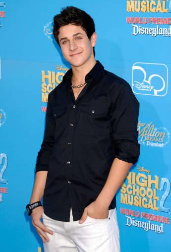 """David Henrie 2007 bei der Premiere von """"High School Musical 2"""""""