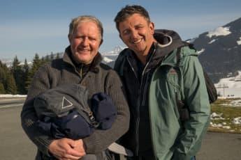 """Rupert Althammer"" und ""Dr. Martin Gruber"" Der bergdoktor winterspecial"