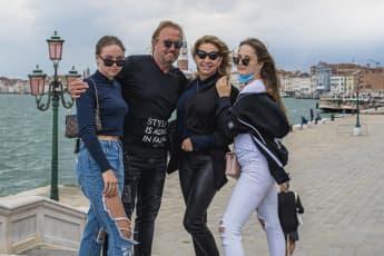Shania, Robert, Carmen und Davina Geiss