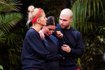 Dschungelshow-Kandidaten Xenia von Sachsen, Djamila Rowe und Filip Pavlovic