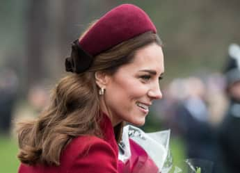 Duchess Catherine on Christmas Day 2018 shortly before her 37th birthday