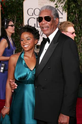 Morgan Freeman Enkelin E'Dena Hines