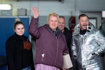 Estefania Wollny, Silvia Wollny und Willi Herren 2020