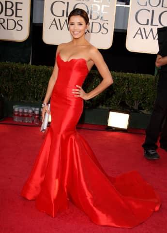 Eva Longoria Golden Globes 2009