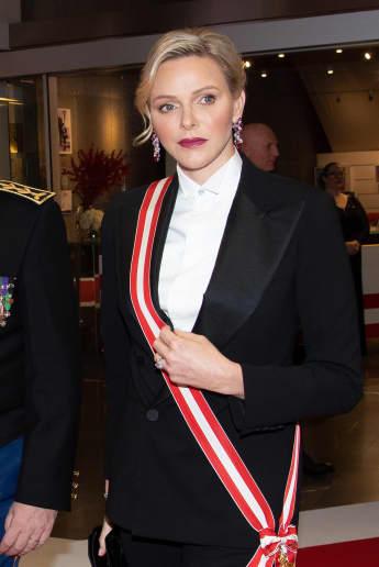 Fürstin Charléne: Auch der androgyne Look steht ihr