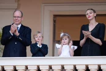 Fürst Albert, Fürstin Charlène, Prinz Jacques, Prinzessin Gabriella