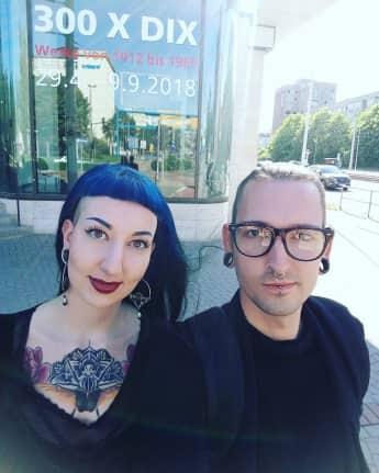 Fabian Kahl und Freundin Samara