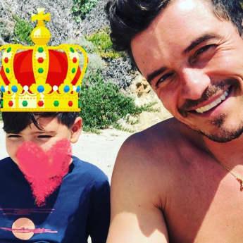 Orlando Bloom Sohn Flynn