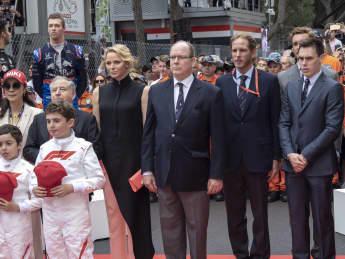 Fürstin Charlene Monaco Fürst Albert Monaco Formel 1 Niki Lauda