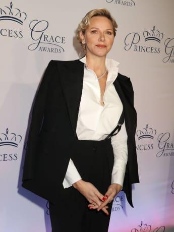 Fürstin Charlène von Monaco Anzug