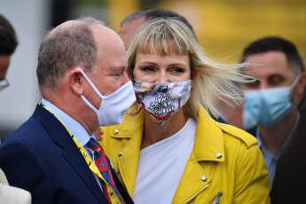 Fürstin Charlène von Monaco bei der Tour de France 2020